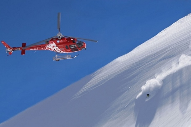 helicopter-off-piste