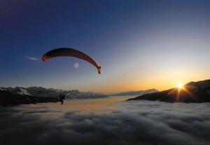 paragliding zermatt 1