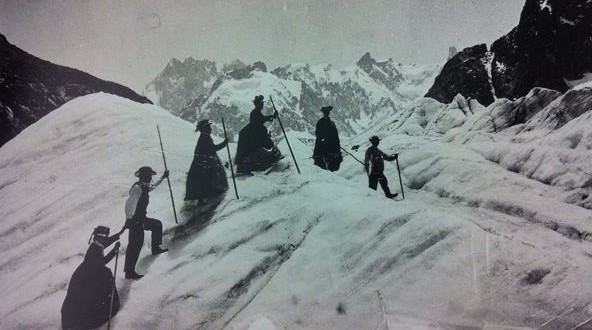 The first women climbing the Matterhorn