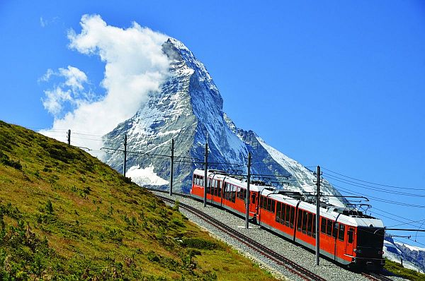 Reaching Zermatt by train