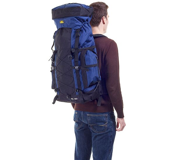 hiker with bagpack